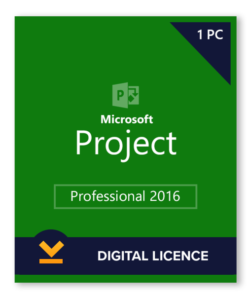 Project 2016 license