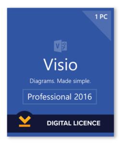 visio 2016 professional license